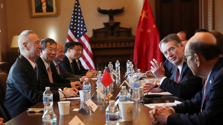 Handelsblatt: столкновение США и КНР грозит Европе катастрофическими последствиями