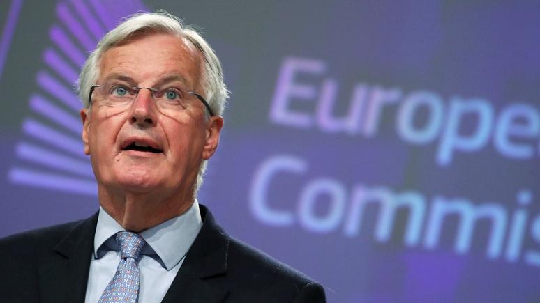 DM: главный переговорщик ЕС по брекситу заявил об отсутствии значимого прогресса в переговорах с Британией