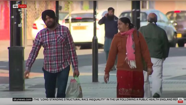 Sky News: власти Британии расследуют случаи расового неравенства во время пандемии