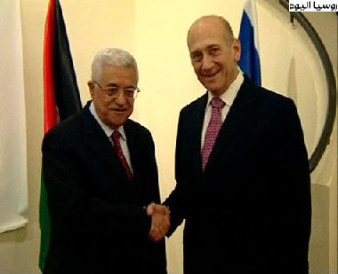فشل اللقاء بين عباس وأولمرت