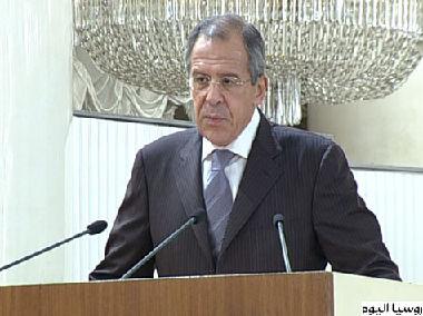 وزيرُ الخارجية الروسي يؤكد على أهمية التعاون بين القطاعين الحكومي و الخاص في مكافحةِ الإرهاب.