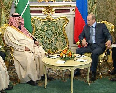 الرئيس الروسي يلتقي ولي العهد السعودي