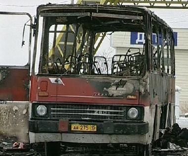 انفجار حافلة في نقطة حدود روسية