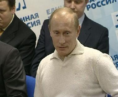 بوتين: عدم حضور المراقبين الأوربيين لن يعرقل الإنتخابات