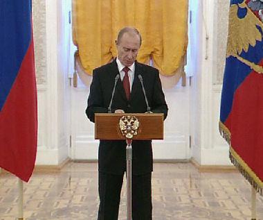 كلمة للرئيس الروسي امام السفراء الاجانب في موسكو