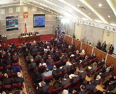 مقاعد الأحزاب في مجلس الدوما