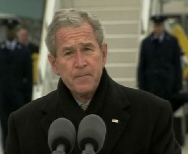بوش يخشى تقويض خطته حول ايران
