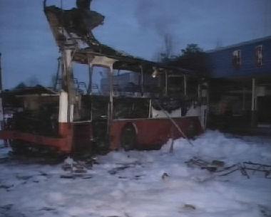 إنفجار حافلة في روسيا