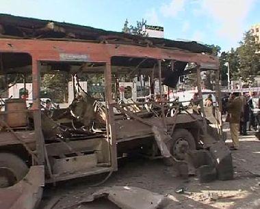 انفجارين في العاصمة الجزائرية