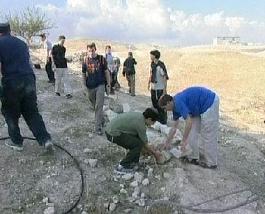 بناء المستوطنات الإسرائيلية