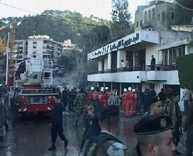 انفجار أمس في لبنان حدث بواسطة سيارة مفخخة