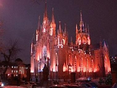 احتفالات الكنيسة الكاثوليكية في روسيا بأعياد الميلاد