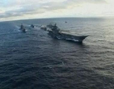 الإسطول الحربي البحري الروسي يصل تونس
