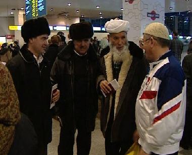 الحجاج الروس العائدون من مكة المكرمة