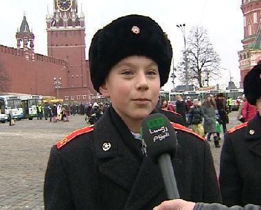 أطفال روسيا يحتفلون في الكرملين