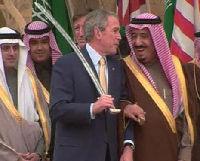 الرئيس بوش والسيف العربي