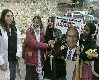 زيارة بوش غير المرغوبة للشرق الأوسط