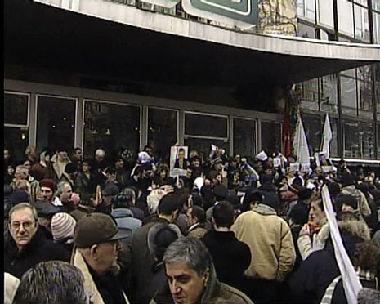 نهاية الإنتخابات الجورجية