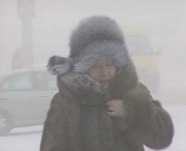 موجة بردٍ قارس تضرب المدن الروسية في سيبيريا
