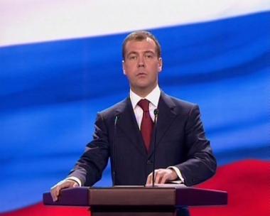 نائب رئيس الوزراء دميتري ميدفيديف
