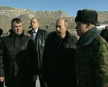 زيارة تفقدية لبوتين إلى القوقاز