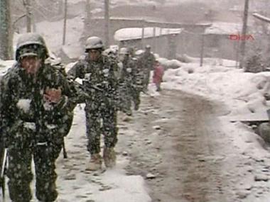 الثلج والسلاح التركي شمال العراق