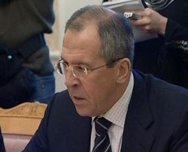 لافروف حذر من عواقب ازمة كوسوفو على الشرق الاوسط
