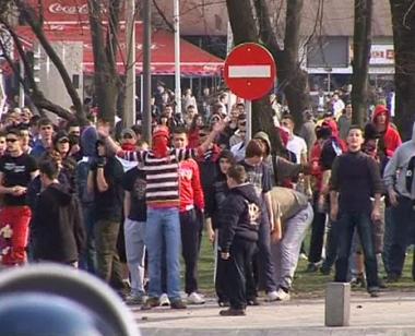 أعمال شغب وعنف في مظاهرة صرب البوسنة