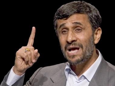 نجاد قال أن التوتر في العراق مؤامرة حاكتها قوى الاحتلال والولايات المتحدة