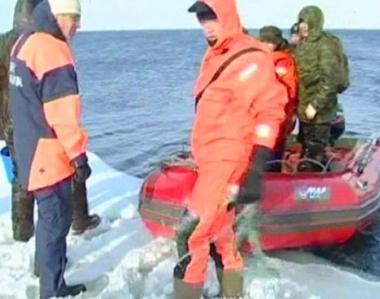 إنقاذ 758 صيادا حاصرهم الجليد في منطقة سخالين