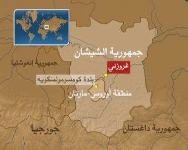 العثور على مخبأ للاسلحة  في جمهورية الشيشان