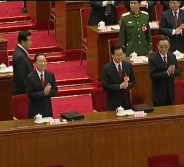هو جين تاو رئيسا للصين للمرة الثانية