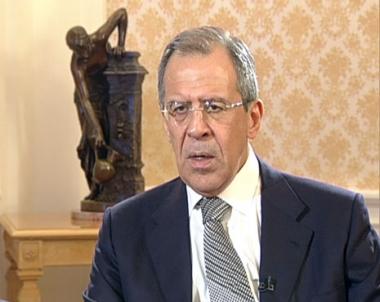 وزير الخارجية الروسي : سنعمل للوصول إلى السلام في الشرق الأوسط