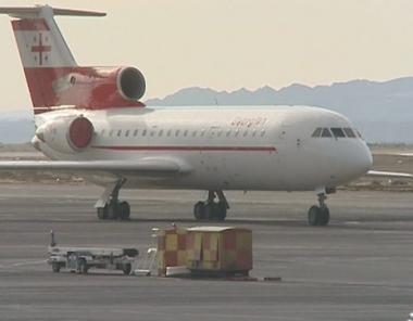 استئناف الرحلات الجوية بين روسيا وجورجيا