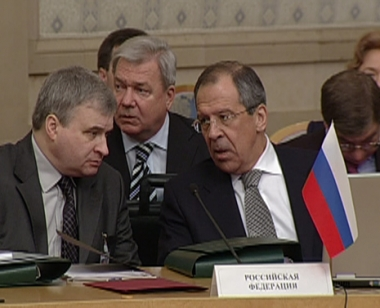 لافروف يؤكد ضرورة تسوية خلافات رابطة الدول المستقلة