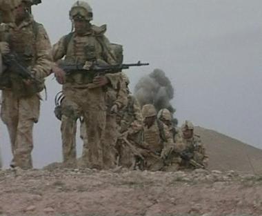براون اعلن نيته خفض عدد القوات البريطانية لقرابة النصف