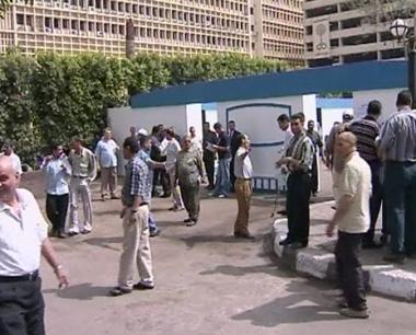 اصابة 11 شخصا خلال صدامات بين الشرطة المصرية و