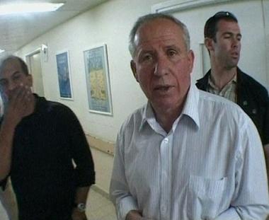 الوزير الاسرائيلي يتحدث عن الحادث