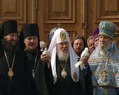 الكنيسة الأرثوذكسية الروسية تحتفل بعيد البشارة