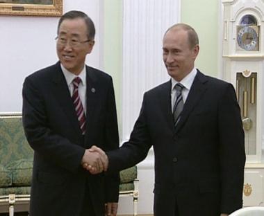 بوتين يثمّن دور الأمم المتحدة في النظام العالمي