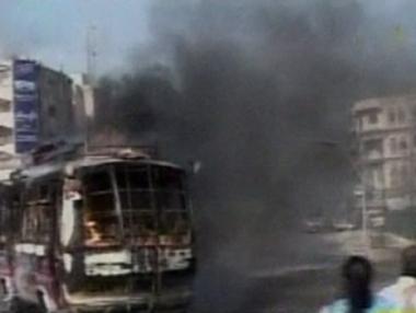 مقتل وجرح عدد من الباكستانيين في صدامات بكراتشي