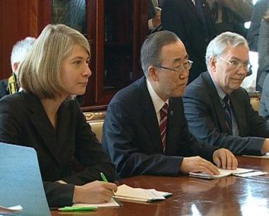 قوات السلام الروسية تحظى بثقة بان كي مون