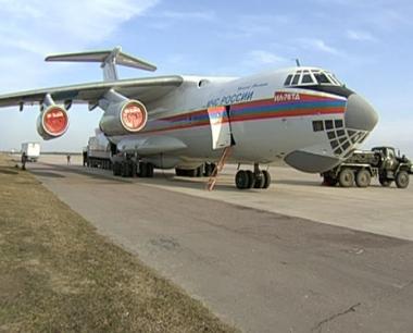 الدفعة الأخيرة من المساعدات الروسية لصرب كوسوفو تصل الى بلغراد