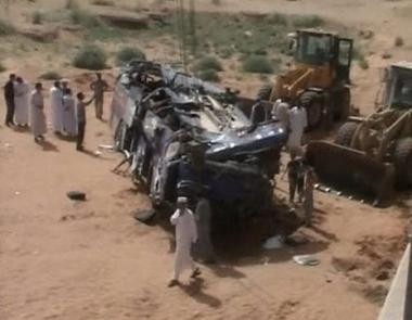 مقتل 36 شخصا في حادث مرور في ليبيا
