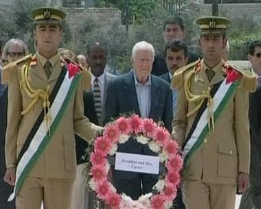 كارتر يؤكد رفض طلبه لدخول قطاع غزة