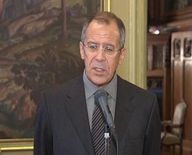سيرغي لافروف وزير الخارجية الروسي