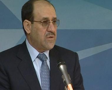 المالكي: القوات العراقية بحاجة للتدريب لتصبح فاعلة