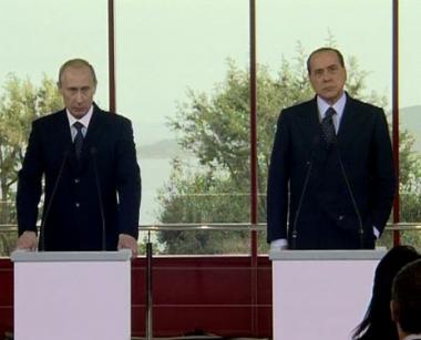 بوتين يؤكد الاهتمام بالتعاون مع ايطاليا في مجال الطاقة