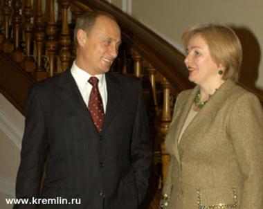 بوتين يدحض الشائعات حول طلاقه