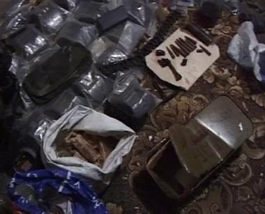 العثور على مخزن للاسلحة في جمهورية داغستان
